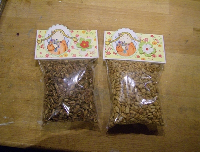 Bagtopper - Schokisonnenblumenkerne